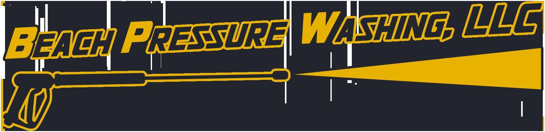 Beach Pressure Washing Logo